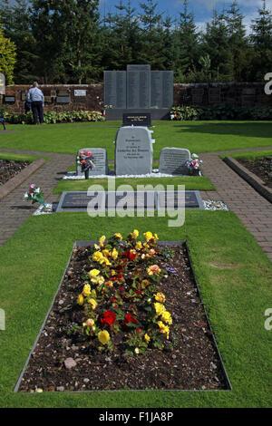 Lockerbie PanAm103 In Rememberance Memorial - Stock Photo