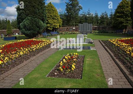 Lockerbie PanAm103 In Rememberance Memorial,Scotland - Stock Photo