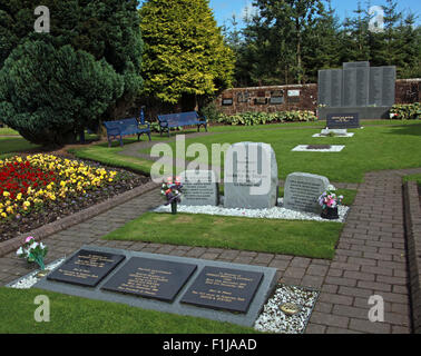 Lockerbie PanAm103 In Rememberance Memorial Garden, Scotland - Stock Photo