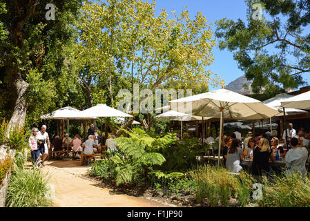 The Restaurant in The Public Garden, Cape Town, Western Cape Province, Republic of South Africa - Stock Photo