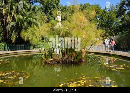 Thorne Fountain in The Public Garden, The Company's Garden, Cape Town, Western Cape Province, Republic of South - Stock Photo