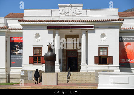 South African National Gallery, The Company's Garden, Cape Town, Western Cape Province, Republic of South Africa - Stock Photo