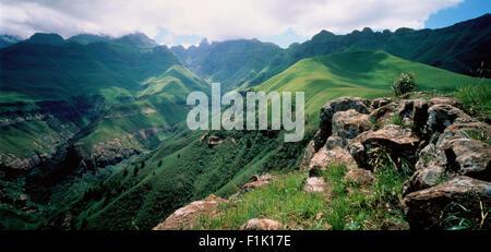 Drakensberg, KwaZulu Natal, South Africa - Stock Photo