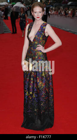 London, UK, 11th Aug 2015: Zoe Boyle attends the BAFTA tribute to Downton Abbey in London - Stock Photo