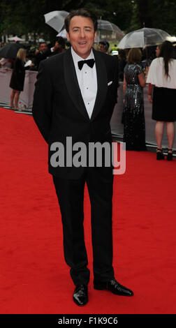 London, UK, 11th Aug 2015: Jonathan Ross attends the BAFTA tribute to Downton Abbey in London - Stock Photo