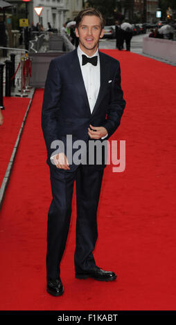 London, UK, 11th Aug 2015: Dan Stevens attends the BAFTA tribute to Downton Abbey in London - Stock Photo