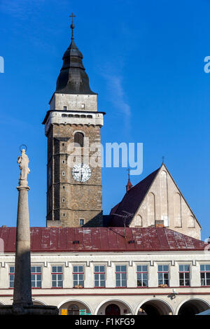 Slavonice, South Bohemia, Czech Republic, Europe - Stock Photo