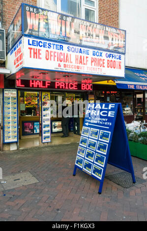 Leicester Square Box Office, London - Stock Photo