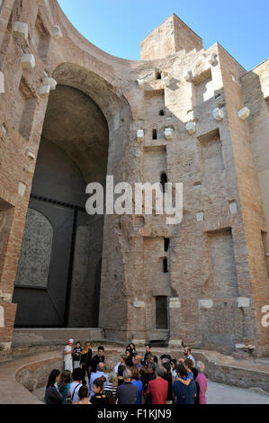 italy, rome, terme di diocleziano, diocletian baths complex, museo nazionale romano, roman national museum, ancient - Stock Photo