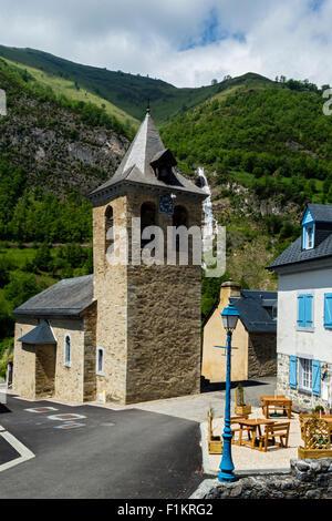 Viella,national park of Pyrenees, Hautes Pyrenees, France - Stock Photo