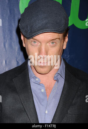 DAMIAN LEWIS English actor  in August 2015. Photo Jeffrey Mayer - Stock Photo