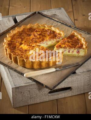 Quiche lorraine french cuisine french restaurant french for Stage cuisine lorraine