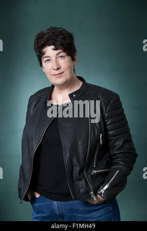 Joanne Michele Sylvie Harris, MBE, the English author, best known for her award-winning novel, Chocolat, at the - Stock Photo