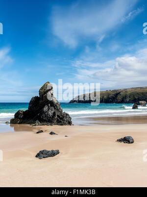Sango Bay, Durness in north west Scotland - Stock Photo