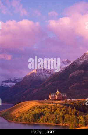 Prince of Wales Hotel, Waterton Glacier International Peace Park, Alberta, Canada