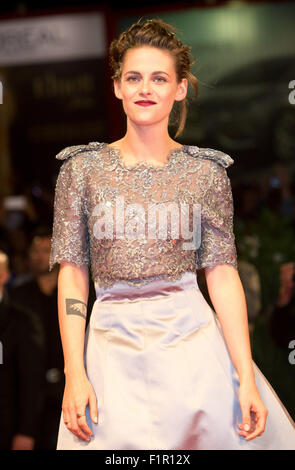 Venice, Italy. 5th September, 2015. Actress Kristen Stewart attends the premiere of Equals during the 72nd Venice - Stock Photo