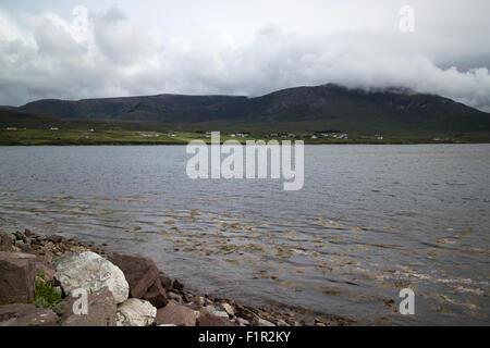 achill sound Achill Island County Mayo Ireland - Stock Photo