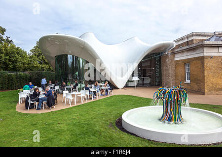 The Magazine Restaurant at the Serpentine Sackler Gallery, Hyde Park, UK - Stock Photo