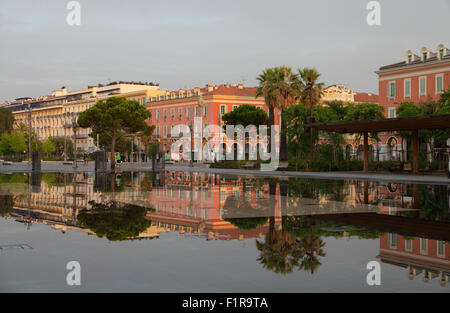 Place Masséna, Nice, France. - Stock Photo