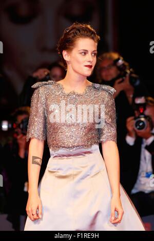 Venice, Italy. 6th Sep, 2015. Kristen Stewart.Equals premiere.72nd Venice Film Festival.Venice, Italy.September - Stock Photo