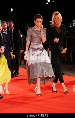 Venice, Italy. 6th Sep, 2015. Kristen Stewart.Equals premiere.72nd Venice Film Festival.Venice, Italy.September - Stock Photo