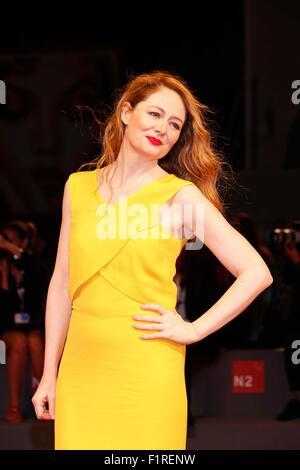 Venice, Italy. 5th Sep, 2015. Miranda Otto.Equals premiere.72nd Venice Film Festival.Venice, Italy.September 5, - Stock Photo