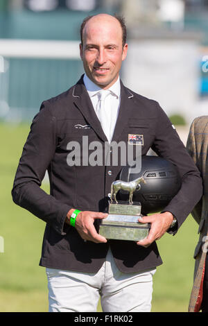 Stamford, Lincolnshire, UK. 06th Sep, 2015. 2015 Land Rover Burghley Horse Trials Tim Price Credit:  Tim Scrivener/Alamy - Stock Photo