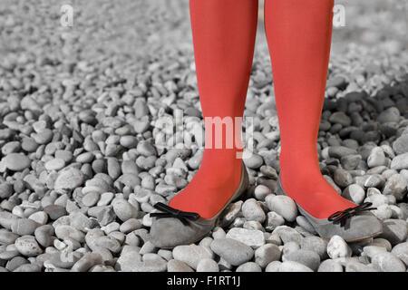 red legs - Stock Photo