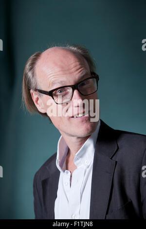 Will Gompertz, BBC's Arts Editor,  at the Edinburgh International Book Festival 2015. Edinburgh, Scotland. 19th - Stock Photo