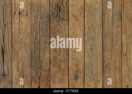 Background of brown old natural wood planks - Stock Photo