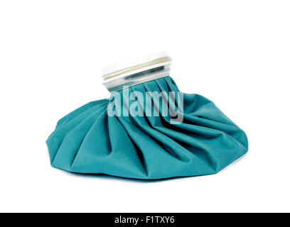 Ice Pack Isolated On White - Stock Photo