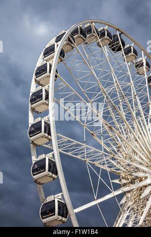 Brighton Wheel in Brighton, East Sussex, England - Stock Photo