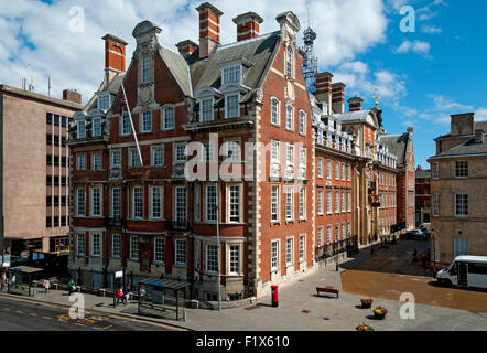 The Grand Hotel & Spa building, former HQ of the North Eastern Railway, Station Road, City of York, Yorkshire, England, - Stock Photo
