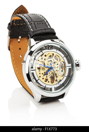 luxury watch isolated on the white background. - Stock Photo