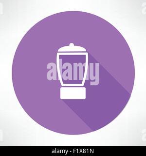 blender icon. Flat modern style vector illustration - Stock Photo