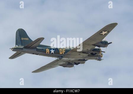 B17G Flying Fortress Sally B G-BEDF - Stock Photo