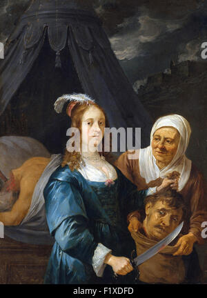 David Teniers the Younger - Judith with the Head of Holofernes - Stock Photo