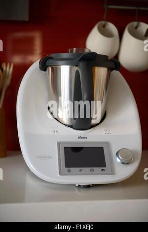 Vorwerk Thermomix TM5 food processor kitchen appliance - Stock Photo