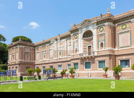 Rome Italy Gardens Of Vatican City State Stock Photo