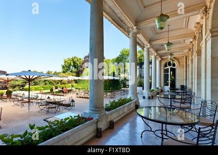 France, Marne, Reims, Chateau les Crayeres Restaurant - Stock Photo