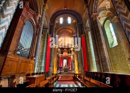 France, Vienne, Poitiers, Notre Dame la Grande church - Stock Photo