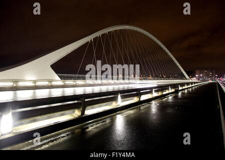 France, Loiret, Orleans, bridge of europe - Stock Photo
