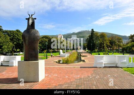 South Africa, Western Cape, Cape Town, City Bowl, Company's Gardens, National Gallery - Stock Photo