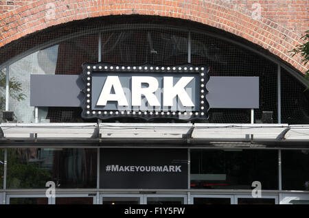 ARK bar and music venue at Deansgate Locks in Manchester - Stock Photo
