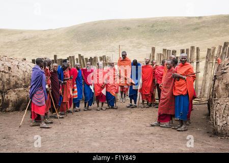 Africa,Warrior,Masai,Tribe,Real People - Stock Photo