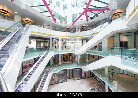 The Cube interiors, Birmingham Stock Photo, Royalty Free Image ...