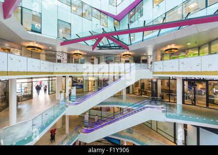 The Cube building, Birmingham, England - Stock Photo