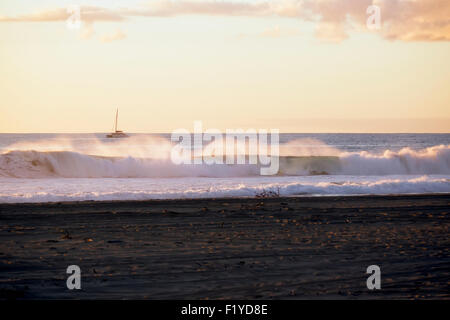 Beach,Hawaii,Kauai,Scenic,Barking Sands - Stock Photo