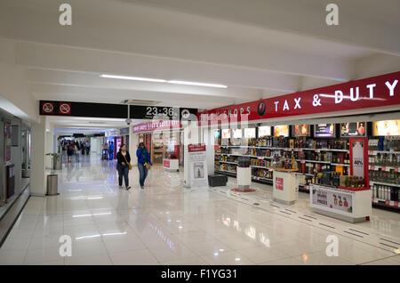 In the international terminal of Mexico City International Airport (Aeropuerto Internacional de la Ciudad de México). - Stock Photo