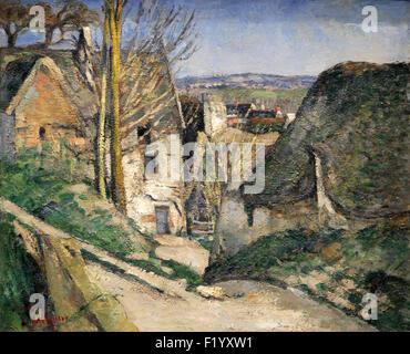 The Hanged Man's House Auvers-sur-Oise 1873 Paul Cézanne 1839-1880 - Stock Photo